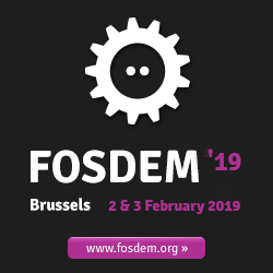 Tasks Support, FOSDEM Talk and More