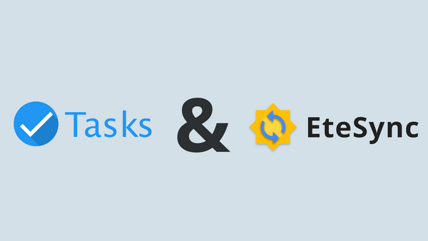 Tasks.org Adds EteSync Support
